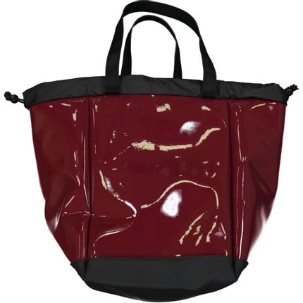 Bags / totes - Big Boat – red burgundy varnish – L - DALZOTTO