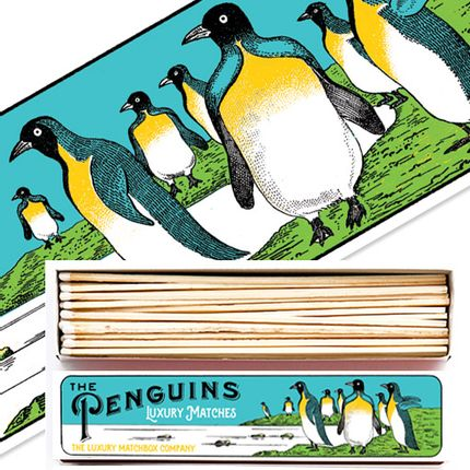Gift - Luxury Long Matchboxes  - ARCHIVIST GALLERY