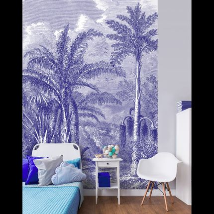 Wall decoration - Phoenix Blue - LÉ PAPIERS DE NINON