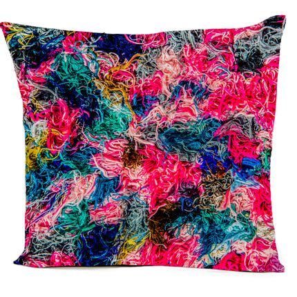 "Cushions  - ""CANDY"" cushion, cotton or velvet, Ethnic prints - ARTPILO"