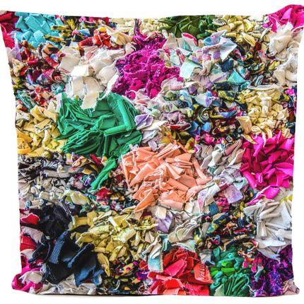 "Cushions - ""PEACEFULL"" cushion, cotton or velvet, Ethnic prints - ARTPILO"