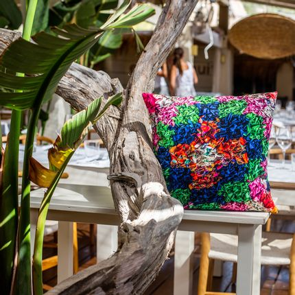 "Cushions  - ""MEXICAN"" cushion, cotton or velvet, Ethnic prints - ARTPILO"