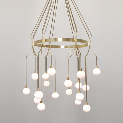 Plafonniers - Drape Skirt18 chandelier - SKLO