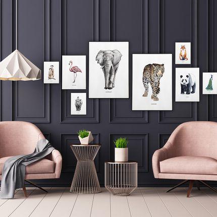 Poster - Animal posters by BINTJE - MEESIE & BINTJE
