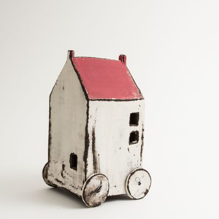 Design objects - House on wheels - BÉRANGÈRE CÉRAMIQUES
