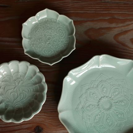 Formal plates - Korea Ceramic Master Kwon Tae-hyun - ICHEON CERAMIC