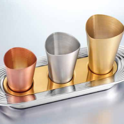 Objets personnalisables - Quantum : :Luxury Shot Glasses - SHAZE LUXURY RETAIL PVT LTD