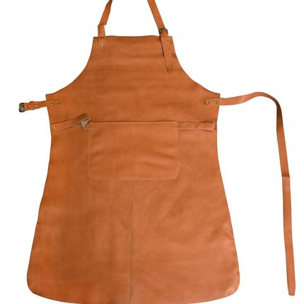 Aprons - Leather Kitchen Apron Waterproof - SKIN.LAND