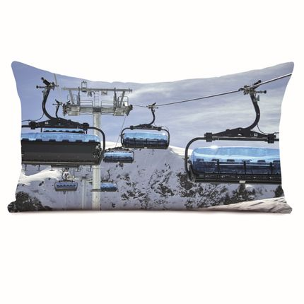 Coussins - Coussin 40*68 Imprimés Montagne Collection Christian Arnal - COAST AND VALLEY