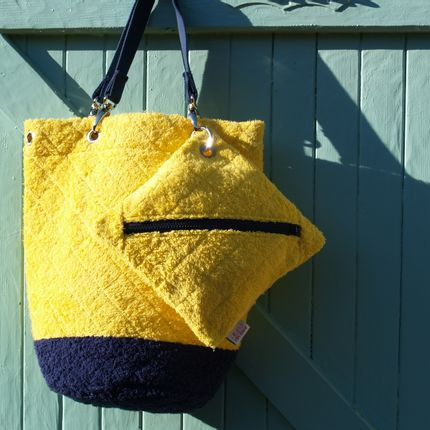 Bags / totes - BUCKET BAG - PIMENT DE MER