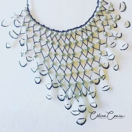 Jewelry - ART NECKLACE - JARDIN SECRET