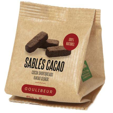Biscuits - CROC SUCRE CACAO SACHET KRAFT 30G  - GOULIBEUR