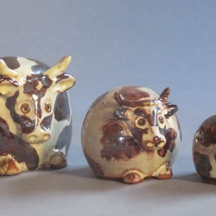 Ceramic - PIGS, COWS, CATS, BIRDS - MARYLINE