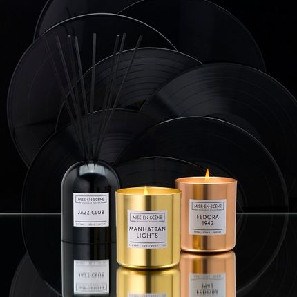 Decorative objects - Mise-en-Scéne. 200ml reed diffuser and 300g candle - AMBIENTAIR COLLECTIONS