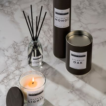 Decorative objects - THE OLPHACTORY Black Edition - Reed Diffusers and scented candles - AMBIENTAIR COLLECTIONS