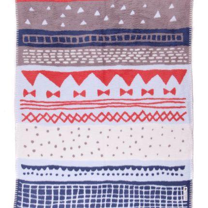 Throw blankets - BABY BLANKET STORIES HAPPY – ORGANIC COTTON - FABGOOSE