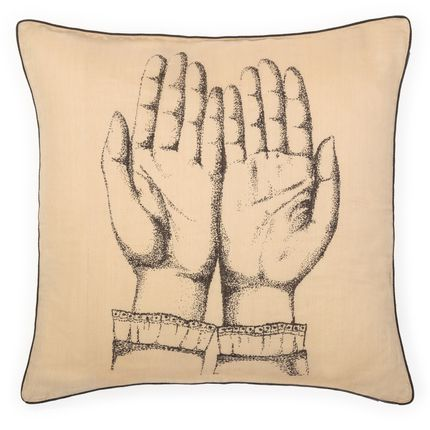 Cushions - Silk cushion - BEATRICE LAVAL LE MONDE SAUVAGE
