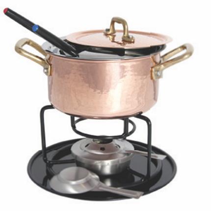 Stew pots - DiamondTin™ Fondue Set - NUOVA H.S.S.C.