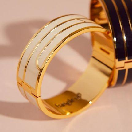 Jewelry - BRACELET GAYA -SAND WHITE  - BANGLE UP
