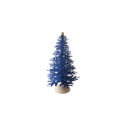 Christmas decoration - Navy Blue Christmas tabletop paper ornaments - FABGOOSE