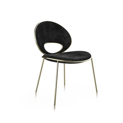Chaises - Black Pearl chair - ALMA de LUCE