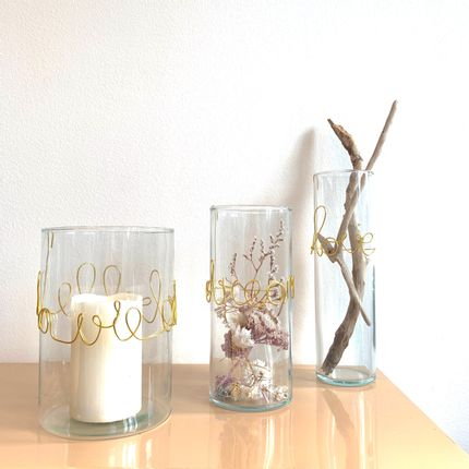 Vases - Medium size Poetic Message Vases - LES LOVERS DECO