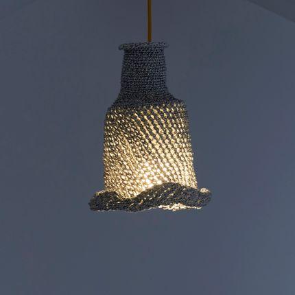 Hanging lights - Lampshade REDES, lampshade LAGUNA , lampshade TRAMAS. - SOL DE MAYO