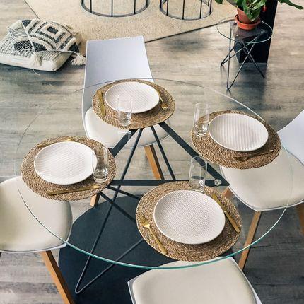 Tables - Table à manger TRIRON - GLASSVARIATIONS