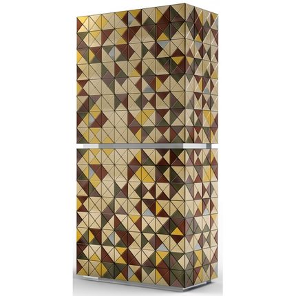 Storage box - PIXEL Anodized Cabinet - BOCA DO LOBO