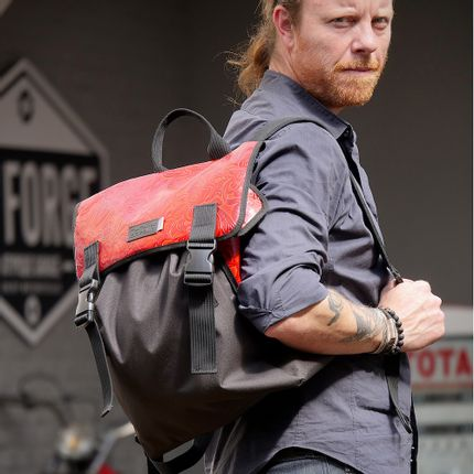 Bags / totes - Red Western Backpack - DALZOTTO