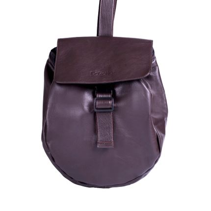Bags / totes - Brown leather Shoulder bag - DALZOTTO