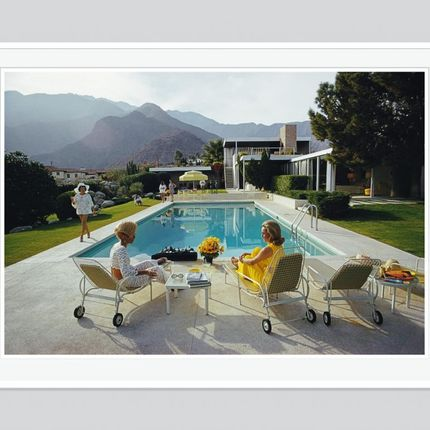 Décoration murale - Poolside Gossip - GALERIE PRINTS