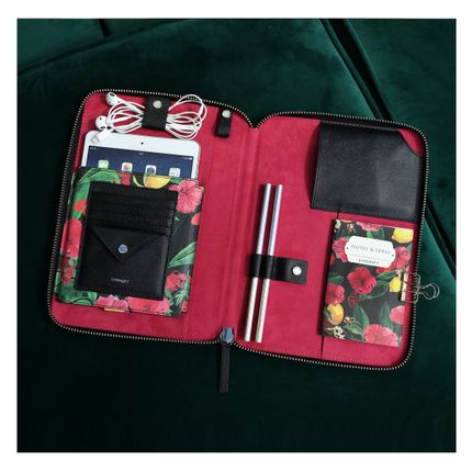 Travel accessories / suitcase - Risha Organizer in Floral - FONFIQUE