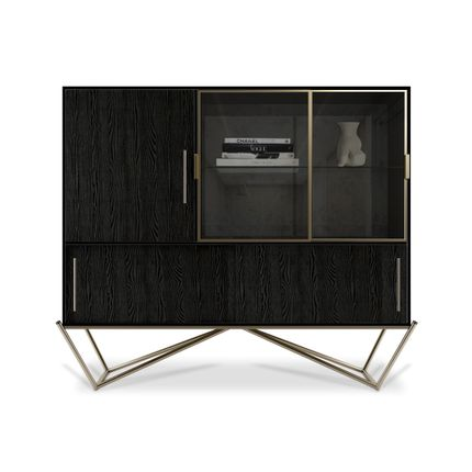 Bibliothèques - Hines Cabinet - PORUS STUDIO