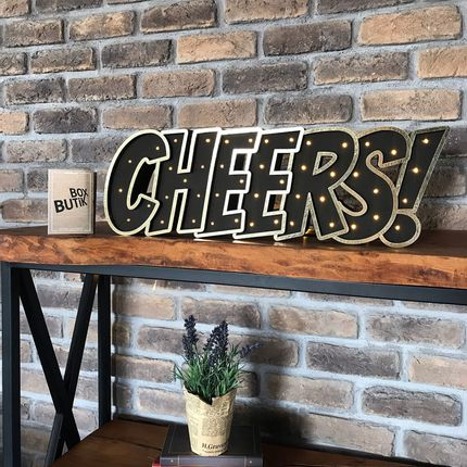 Éclairage LED - CHEERS! - BOX BUTIK