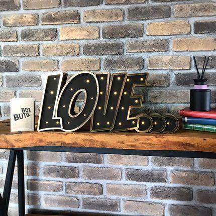 Objets de décoration - LOVE... - BOX BUTIK