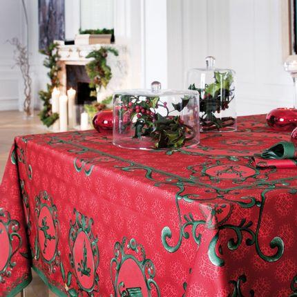 Kitchen fabrics - Winter tablecloth - BEAUVILLÉ