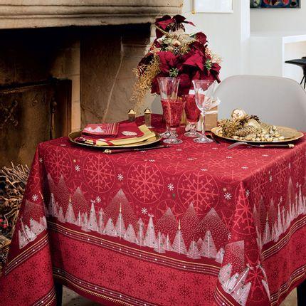Kitchen fabrics - Megève tablecloth - BEAUVILLÉ