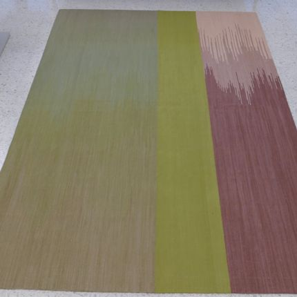 Tapis  - Bamboo Silk Ikat Rug - AZMAS RUGS