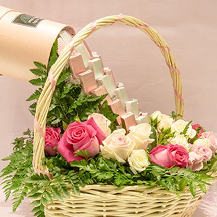 Gift - Chocolate Meets Flowers - VIVA FLORA