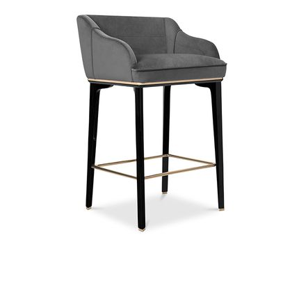 Chairs - SABOTEUR BAR CHAIR - COVET HOUSE