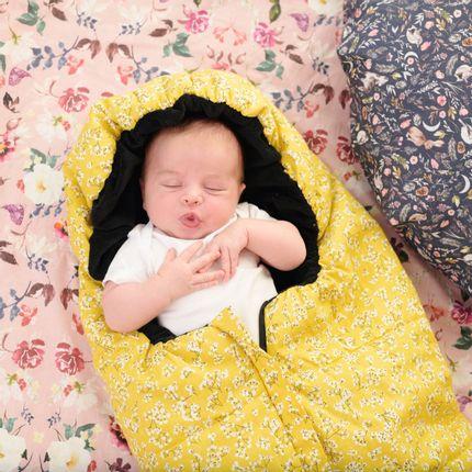 Accessoires enfants - Chancelière pour poussette Babyzen Yoyo ® et groupe 0+ Curry Flower - FUN*DAS BCN