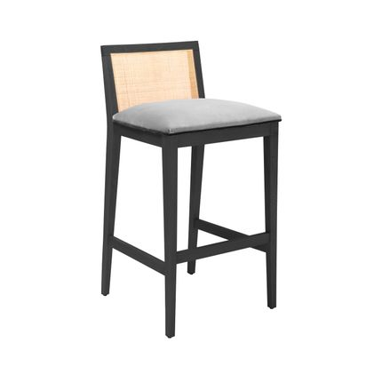 Chairs - CANE Bar Stool - ALGA