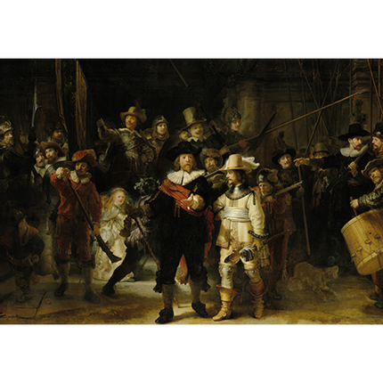 Wall decoration - MONDiART, AluArt, Nightwatch Rembrandt - MONDIART ART & DECORATIONS
