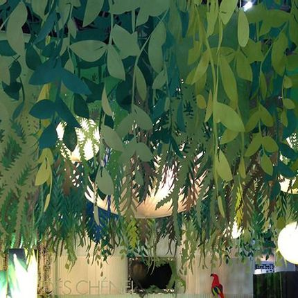 Wall coverings - CUT PAPER GARLANDS - PROCEDES CHENEL INTERNATIONAL