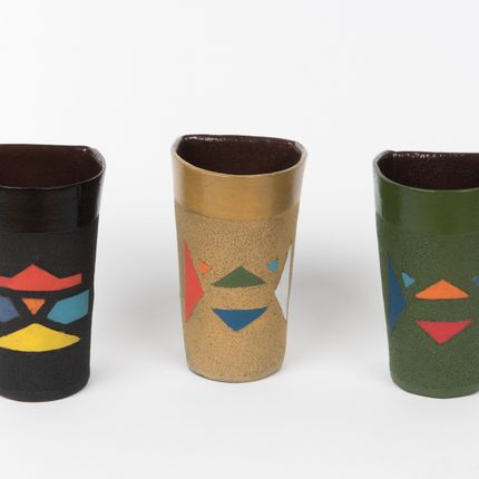 "Tasses et mugs - TASSES A EXPRESSO & MUGS - COLLECTION ""ISIQHAZA"" - MAHATSARA"
