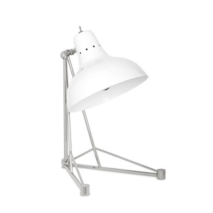 Chambres d'enfants - Diana Table Lamp White Silver - CIRCU