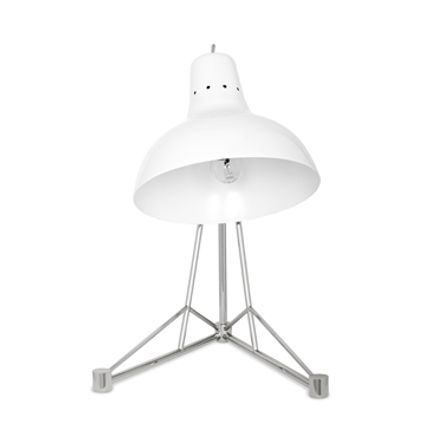 Children's bedrooms - Diana Table Lamp White Silver - CIRCU