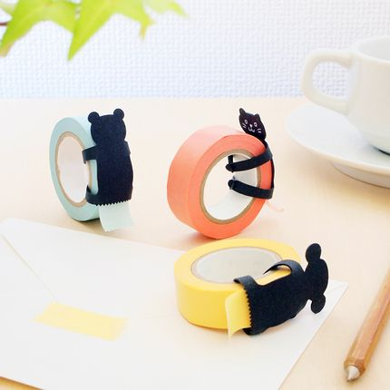 Papeterie - Animal Hug  washi tape dispenser - SUGAI WORLD
