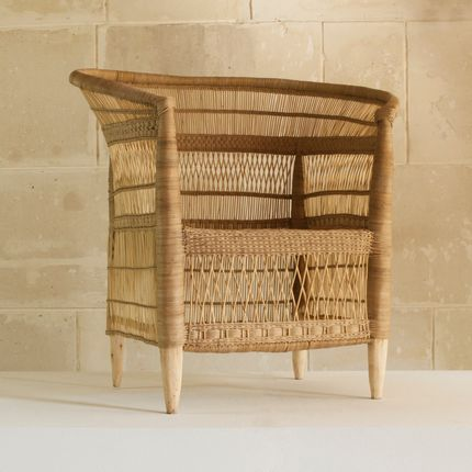 Armchairs - Armchair, rattan, Malawi - AS'ART A SENSE OF CRAFTS